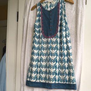 Light blue mata traders dress